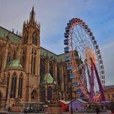 Metz Francia immagine stock