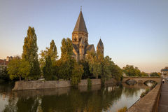 Metz, Francja Zdjęcia Royalty Free