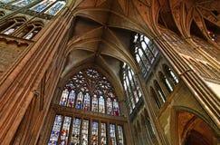Metz Francja, Lipiec, - 25 2016: katedra Obrazy Royalty Free