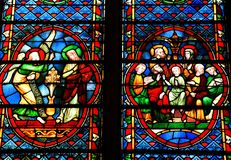 Metz Francja, Lipiec, - 25 2016: katedra Fotografia Royalty Free