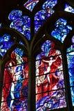 Metz Francja, Lipiec, - 25 2016: katedra Obraz Royalty Free