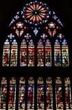 Metz Francja, Lipiec, - 25 2016: katedra Zdjęcia Royalty Free