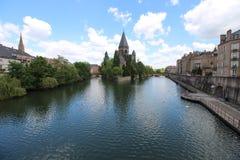 Metz, Frankreich stockbild