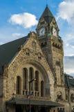 METZ, FRANKREICH EUROPA - 24. SEPTEMBER: Ansicht der Station in Metz Lizenzfreie Stockfotografie