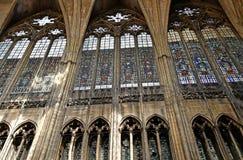 Metz, Frankreich - 25. Juli 2016: die Kathedrale Stockfoto