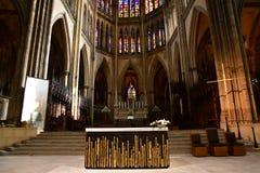 Metz, Frankreich - 25. Juli 2016: die Kathedrale Lizenzfreie Stockfotografie