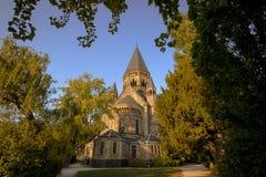 Metz, Frankrijk stock afbeeldingen