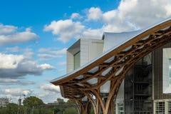 METZ, FRANKRIJK EUROPA - 24 SEPTEMBER: Mening van het Pompidou-Centrum royalty-vrije stock afbeeldingen