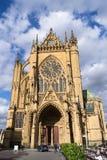METZ FRANKRIKE EUROPA - SEPTEMBER 24: Vew av domkyrkan av helgonet-e royaltyfria foton