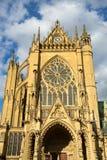 METZ FRANKRIKE EUROPA - SEPTEMBER 24: Vew av domkyrkan av helgonet-e royaltyfri fotografi