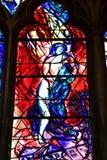 Metz Frankrike - juli 25 2016: domkyrkan arkivfoto