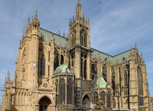 Metz-Kathedrale Lizenzfreie Stockfotografie