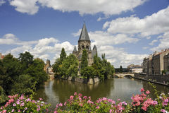 Metz Riverscape Stock Photography
