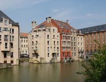 Metz Riverscape Royalty Free Stock Photos