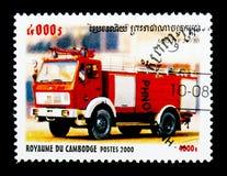 Metz TLF 24/50, serie de los coches de bomberos, circa 2000 Foto de archivo