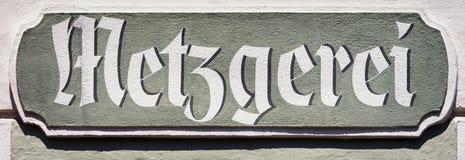 Metzgerei Stock Images