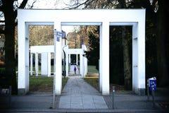 Metzler parkerar Frankfurt royaltyfria bilder