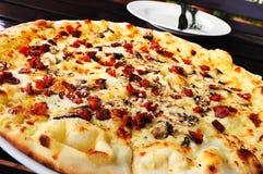 Meu almoço da pizza Fotos de Stock