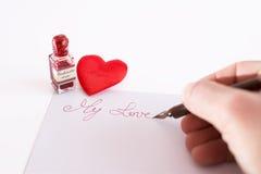 Meu amor Fotografia de Stock