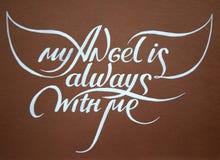 Meu anjo é sempre com me_2 Imagem de Stock Royalty Free