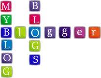 Meu blogue Foto de Stock