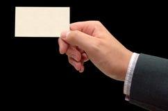 Meu cartão Imagens de Stock