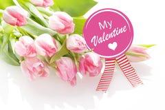 Meu cartão do Valentim imagens de stock