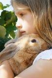 Meu coelho pequeno Fotografia de Stock Royalty Free