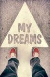 Meu conceito dos sonhos Fotos de Stock Royalty Free