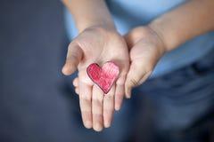 Meu coração para você Foto de Stock Royalty Free