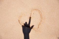 Meu coração pertence-lhe Foto de Stock