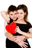 Meu coração pertence-lhe Fotografia de Stock