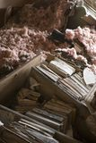 Meu escritório home após o furacão Katrina, Nova Orleães, La. Imagem de Stock Royalty Free