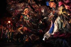 meu för festival för karneval för boibrazil bumba Arkivfoto