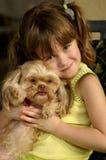 Meu filhote de cachorro Fotos de Stock Royalty Free