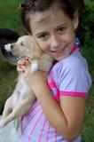Meu filhote de cachorro Imagens de Stock Royalty Free