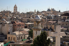 Meu Jerusalem-2 Foto de Stock Royalty Free