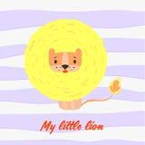 Meu leão pequeno Fotografia de Stock Royalty Free