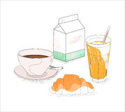 Meu pequeno almoço Imagem de Stock