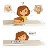 Meu plano da dieta ilustração royalty free