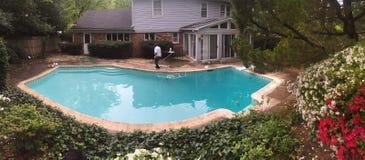Meu quintal Foto de Stock Royalty Free