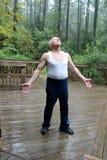 Meu sogro das pessoas de 83 anos Imagem de Stock Royalty Free