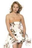 Meu vestido e o vento Fotografia de Stock
