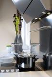 Meubilair in een moderne keuken Royalty-vrije Stock Foto