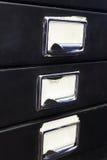 Meuble d'archivage #3 photographie stock libre de droits