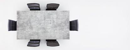 Meubles dans un studio illustration de vecteur