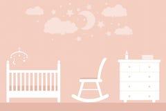 Meubles de bébé Photos libres de droits