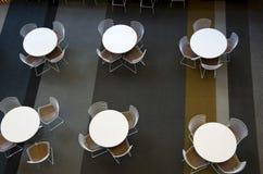 Meubles de café de bureau Image stock