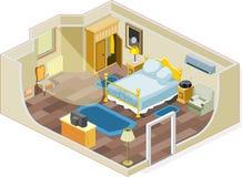 Meubles de chambre à coucher Photo stock