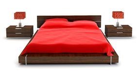 Meubles de chambre à coucher Image stock